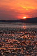 Sunset over Burry Port (2)