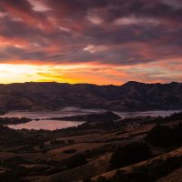 Sunrise, Akaroa Harbour Basin