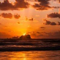 Sunrise over Old Lady Island