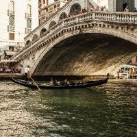 The Covered Bridge, Venice