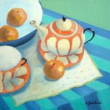 The Orange Teapot I