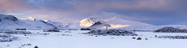 Black Mount and Rannoch Moor