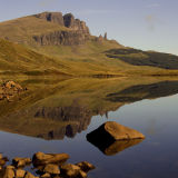 The Storr from Loch Leathan, Isle of Skye