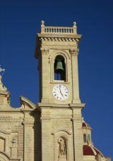Restored bell tower, Zebbug parish church