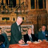 Book launch of the 'Malta - The Baroque Island' at St James church, Valletta. 2004