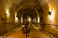 Champagne caves entrance, Reims