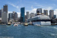Ferry port Sydney Harbour