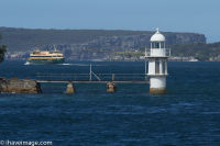 Lighthouse in Sydney Harbour
