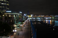 Darling Harbour at night 2
