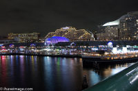 Darling Harbour at night 3