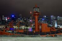 The lighthouse ship at Darling harbour