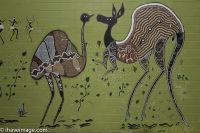 Wall painting Kuranda