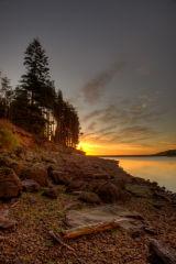 Sunrise at Kielder Water
