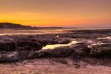 Sunset at Hauxley