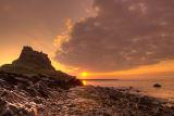 Sunrise at Lindisfarne Castle