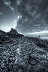 Sunrise at Lindisfarne Castle