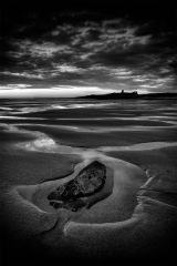 Embleton rock at low tide