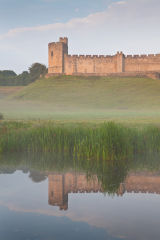 Alnwick Castle reflections