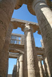 Columns at Karnak Temple, Egypt