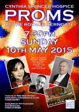 Poster design for Derngate Proms 2015
