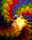 Balloon and Fire