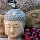 Three Buddha Heads, Hong Kong