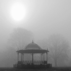Bandstand in the Morning Mist