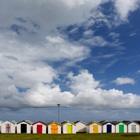 Beach Huts, Torbay, England