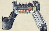 Kilkenny Castle cut-away