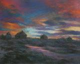 Sunset on Inis Lacken