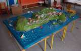 Inis Bofin model completed.