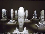 Jaume Plensa - Alabaster Heads