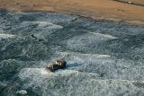 Beached trawler