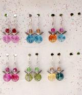 angel earrings by Noel