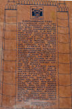 history of Ranthambore fort on stone tablet
