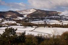 Moel Famau in Winter