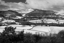 Moel Famau in Winter [BW]