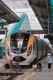 Hyundai Rotem HRCS2 train at Donetsk Railway Station