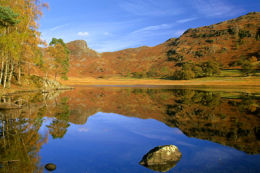 Blea Tarn autumn reflections
