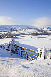 Rosedale in winter