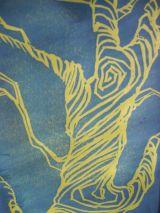 Oak Lino print