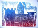 Relief Print of Edinburgh