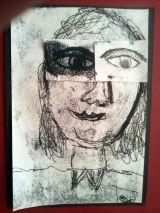 Self portrait by Rachel