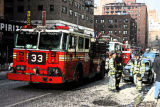 Fire Brigade turn out in New York