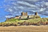 Bamborough Castle, Northumberland, UK