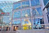 Big wheel Manchester and Arndale Centre