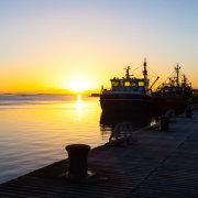 Wexford Harbour Sunrise Panorama