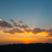 Bada Sunset Silhouette
