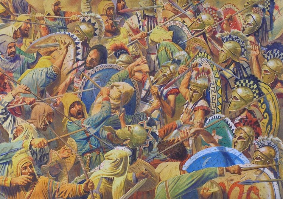 andreia and the battle of thermopylae history essay Read the battle of thermopylae free essay and over 88,000 other research documents in the 5th century bc, the persian empire battled the greek city-states in one of the most significant struggles in history the extensive journey to the battle at thermopylae began in the persian empire.