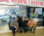 Global Mural Conference, Chemainus, Canada
